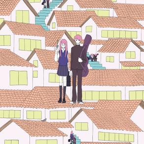 劇団 星野女子さん公演「ヤンデルとグレテル」ポスターイラスト
