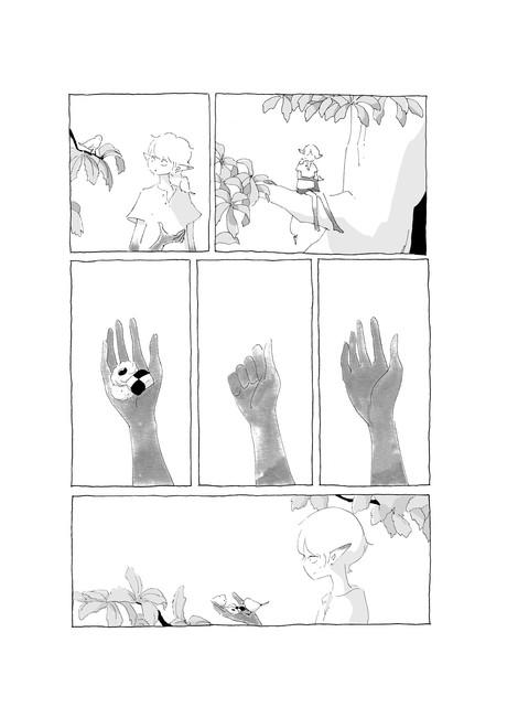 「小さいやさしい右手」(原作:安房直子) 『光と窓』(リイド社)収録