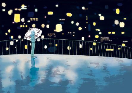 『雨夜の星たち』装画 著:寺地はるなさん 装丁:大久保伸子さん 徳間書