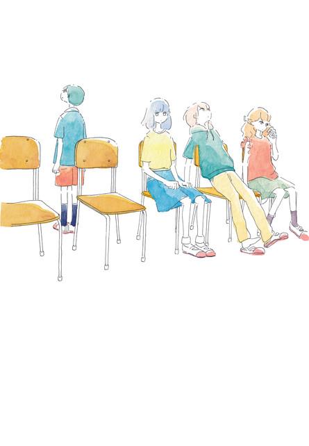 『君たちは今が世界』装画 著:朝比奈あすかさん 装丁:坂詰佳苗さん KADOKAWA