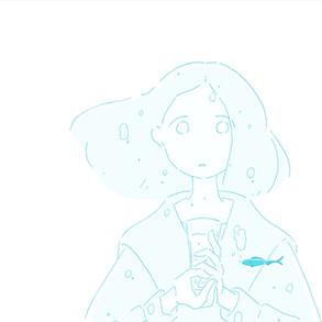 NHK Eテレ番組「きみと食べたい」イラスト提供