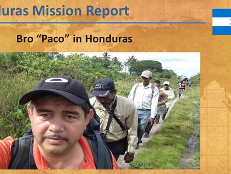 2018 Honduras Mission Report