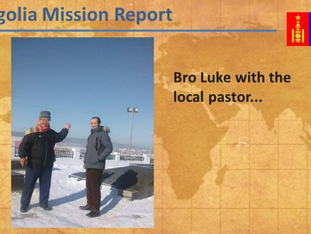 2017-02 Mongolia Mission Report