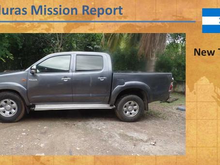 2017 Honduras Mission Report