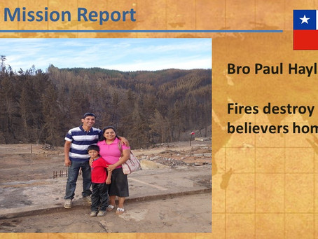 2017-02 Chile Mission Report