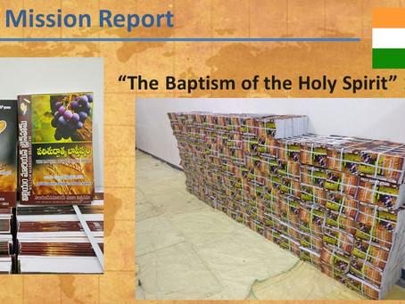 2016 India Mission Report
