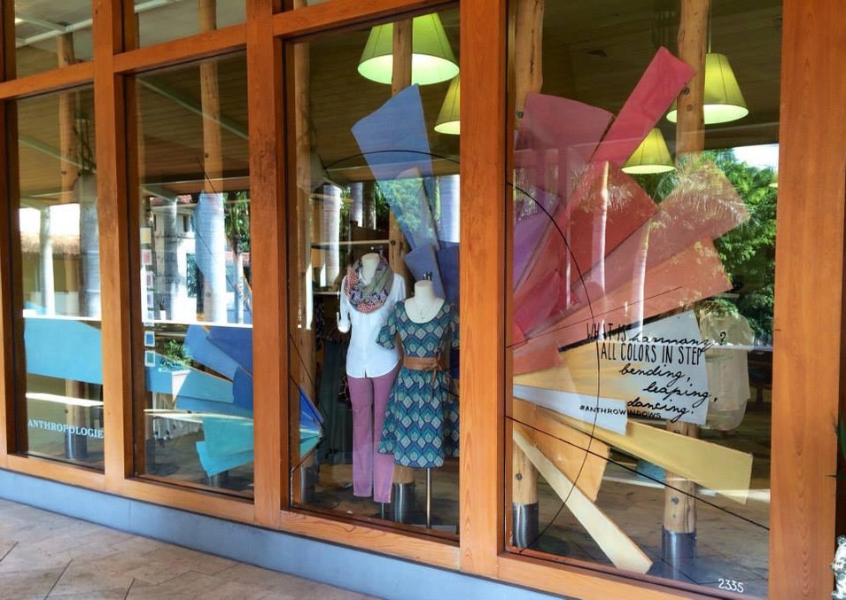 Color Theory Window - Anthropologie