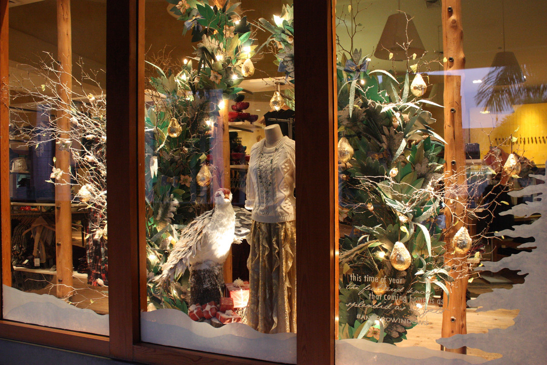 Holiday Window - Anthropologie