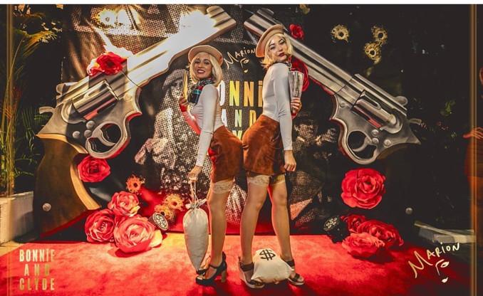 Media Wall - Bonnie & Clyde