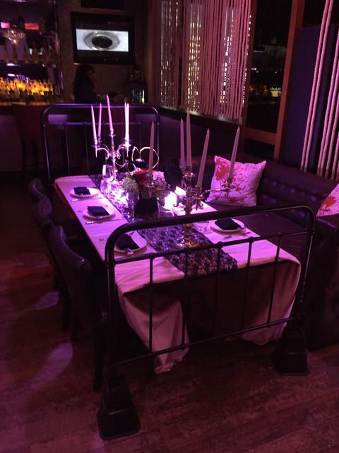Bedframe Table - Hitchcocked