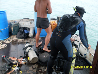 Diver Preperation