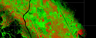 orthophoto with lidar