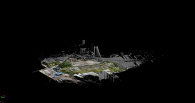 aerial and terrestrial scan