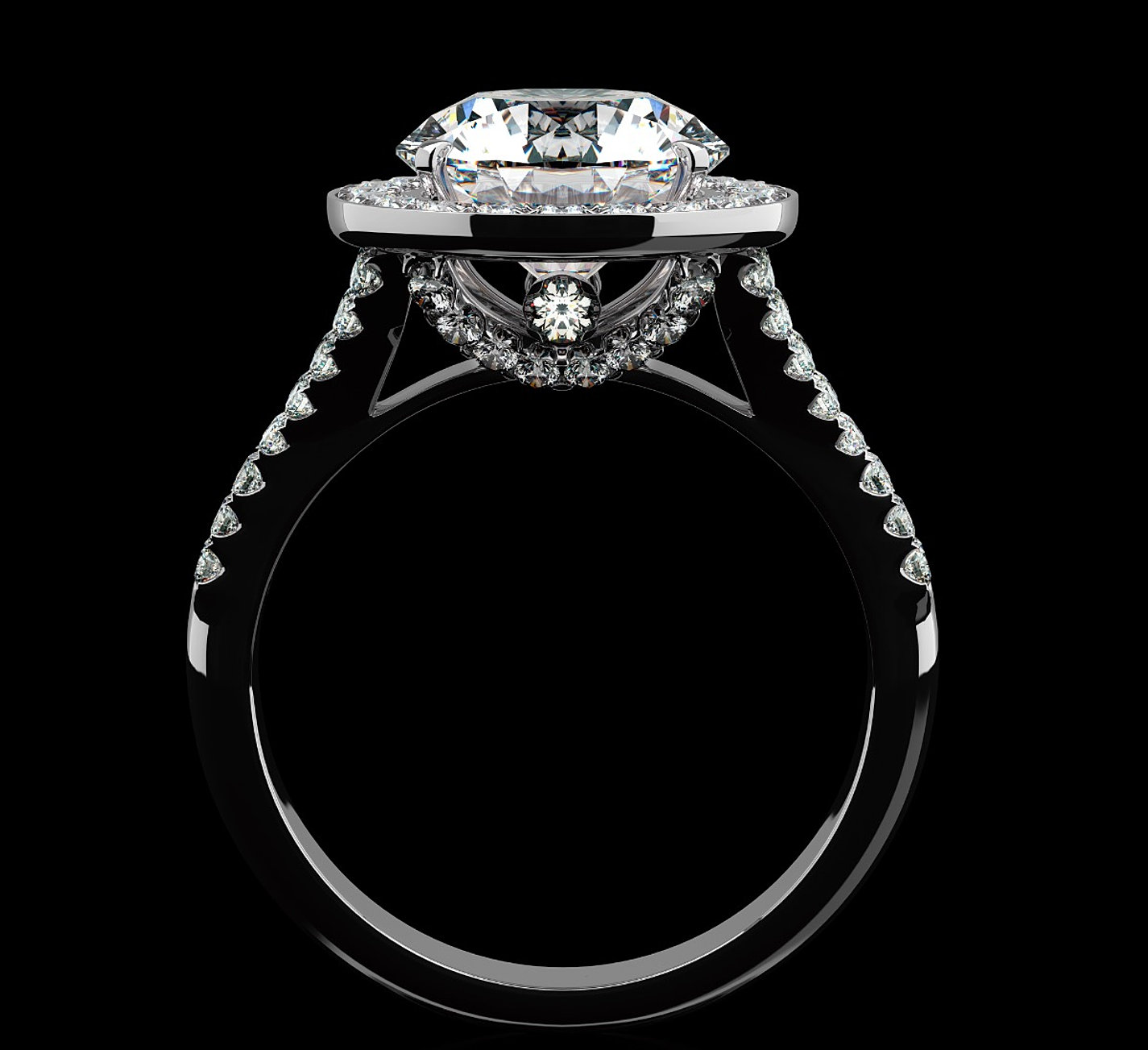 shop for engagement rings @diamond house jewelers