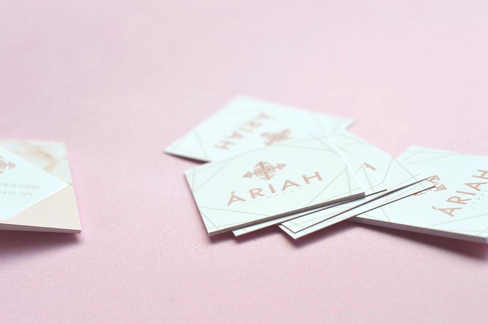Tamanhos padrão para cartão de visita - Cartão de Visita para Joalheria