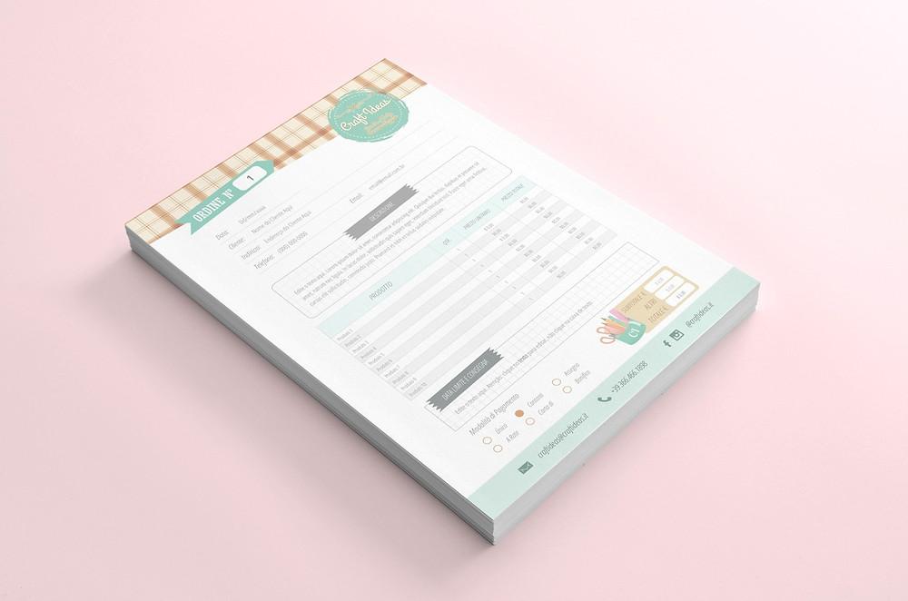 Orçamento personalizado editável, digital para Word em .docx
