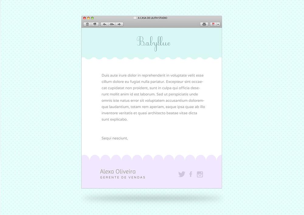 Corpo de Email em HTML Profissional Design Personalizado - Web Designer