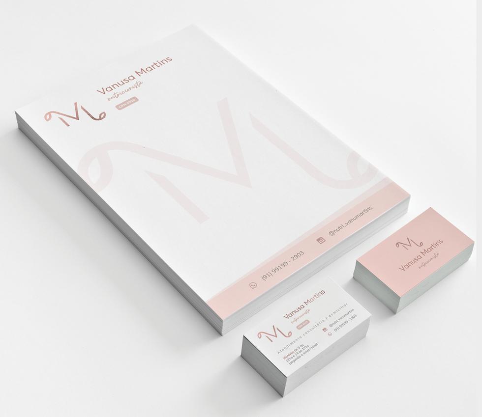Receituário e Cartão de Visita