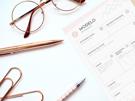 Como fazer um modelo de negócios (canvas) + PDF gratuito