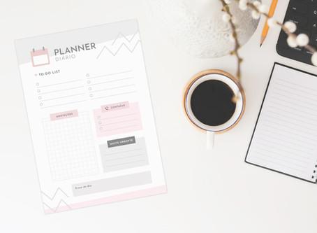Home office: como ser produtivo trabalhando em casa com 6 dicas + Planner Diário PDF gratuito