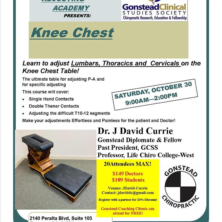 Knee Chest Adjusting