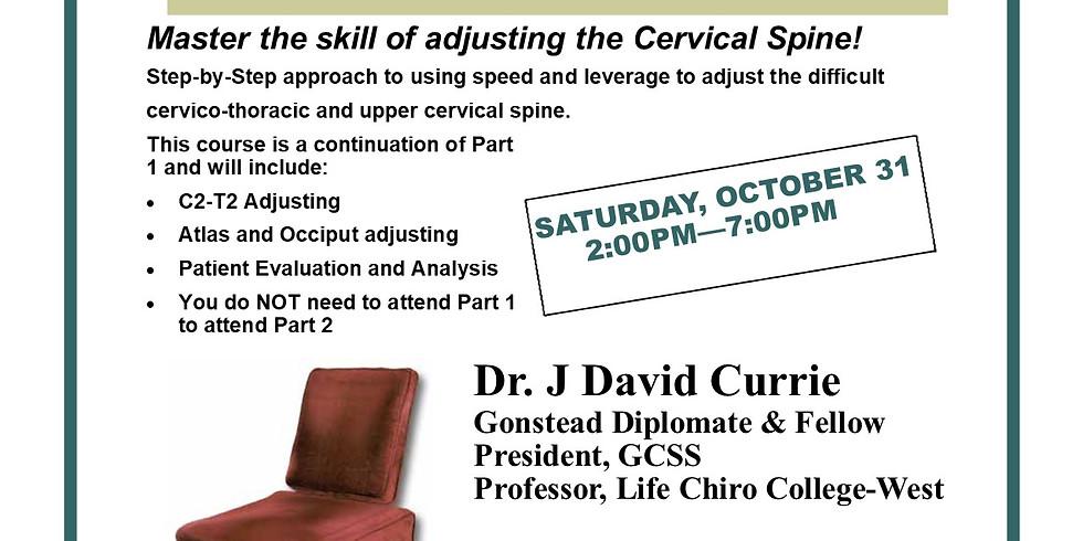 Cervical Chair - Part 2