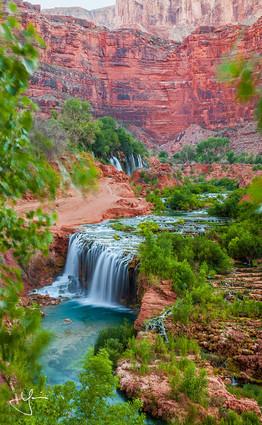 Picturesque Rock Falls