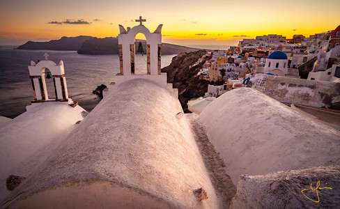Holy Sunset of Oia