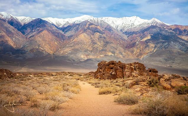 Snowcapped Desert