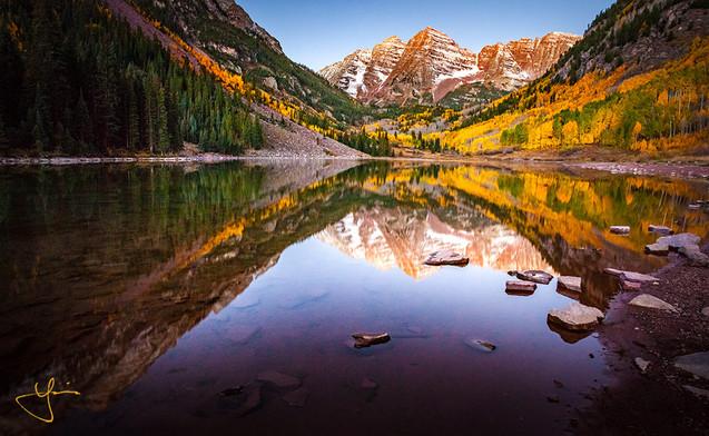 Mountainous Reflections