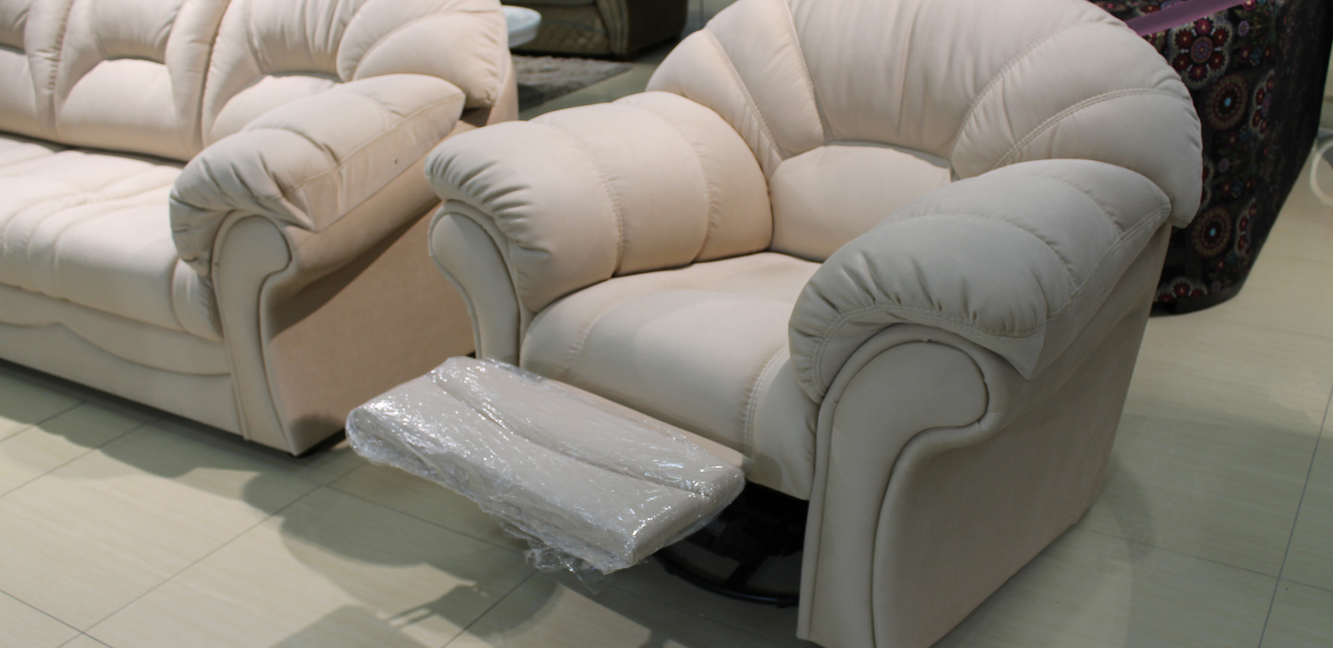 Оливер диван и кресло-реклайнер