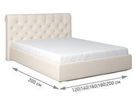 Кровать Грейс размеры матраса