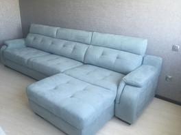 Бернардо диван с укороченной оттоманкой
