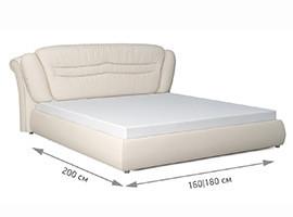 Кровать Сориденте размеры