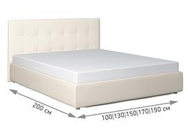 Беллучи кровать размеры