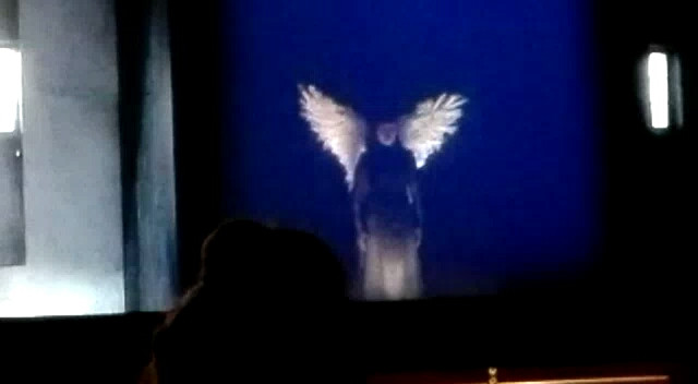 R. Strauss: The woman without a shadow, A voice from above, Opera Wiesbaden, Germany