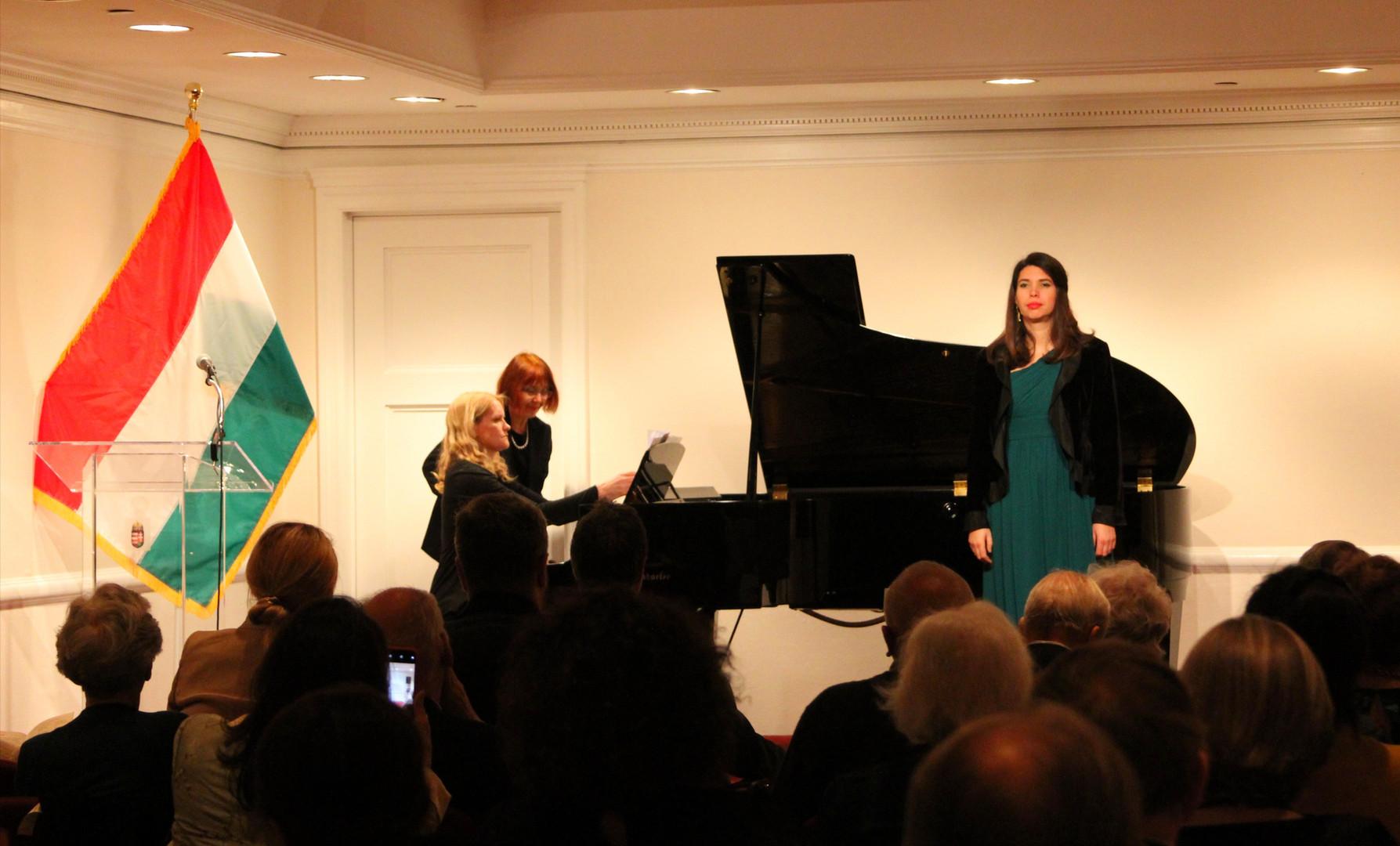 Concert by Salon de Virtuosi, New York, Ambassy of Hungary