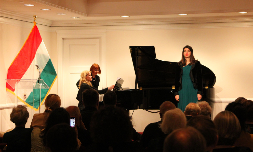 Concert by Salon de Virtuosi, New York, Ambassy of Hungary
