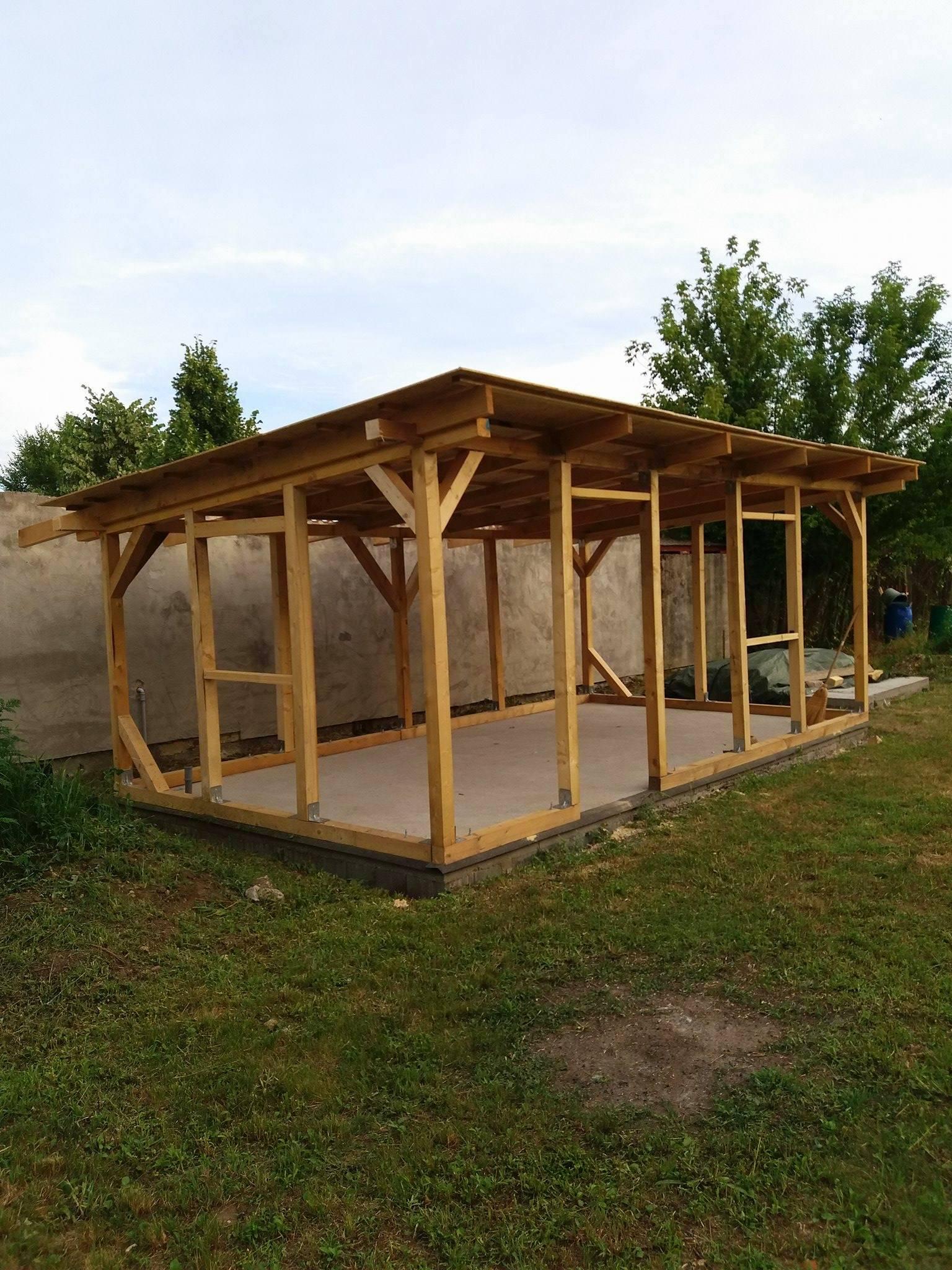 Bygge hytte 4