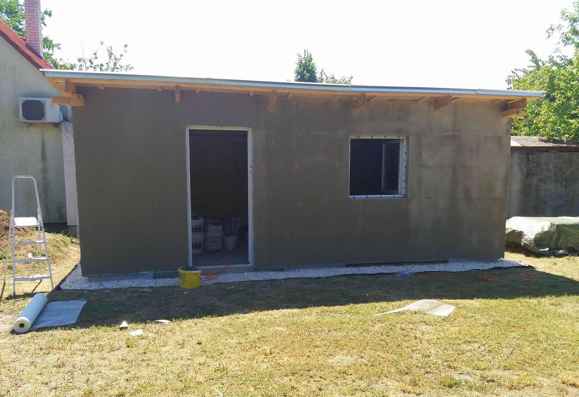 Bygge hytte 9