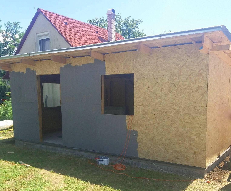 Bygge hytte 7