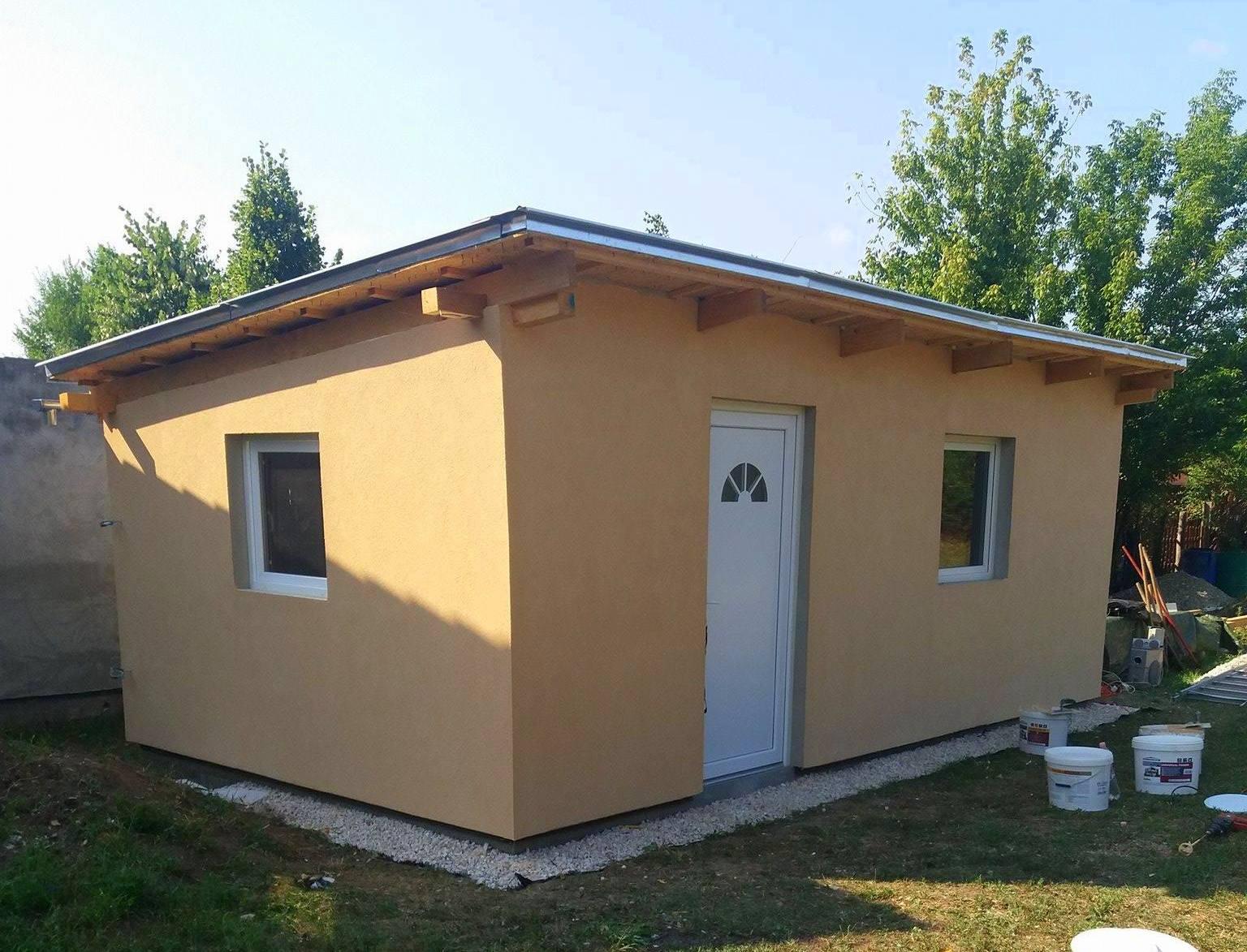 Bygge hytte FERDIG