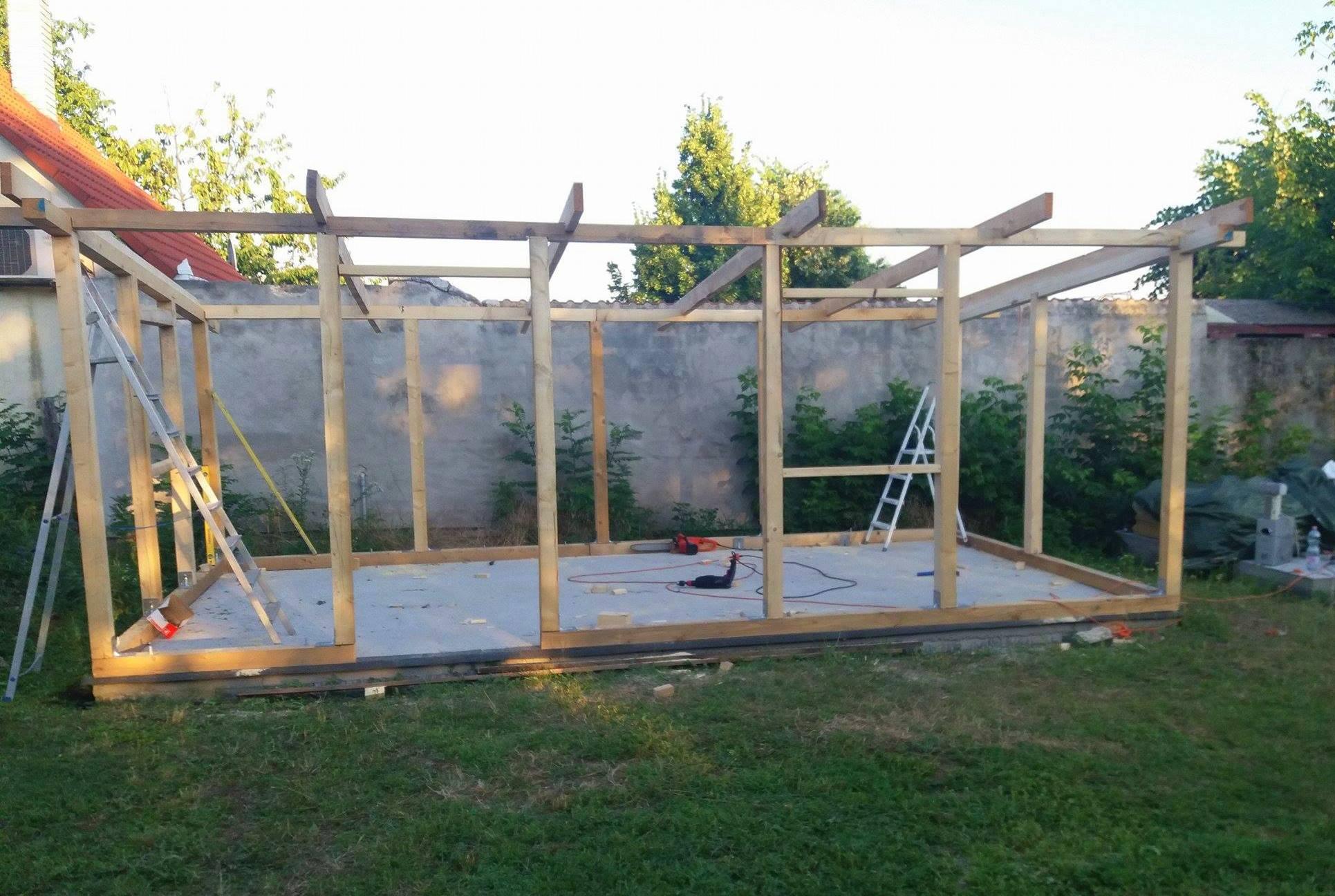 Bygge hytte 2