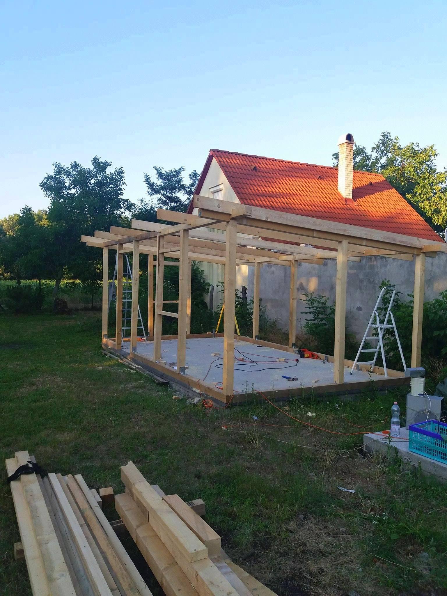 Bygge hytte 3