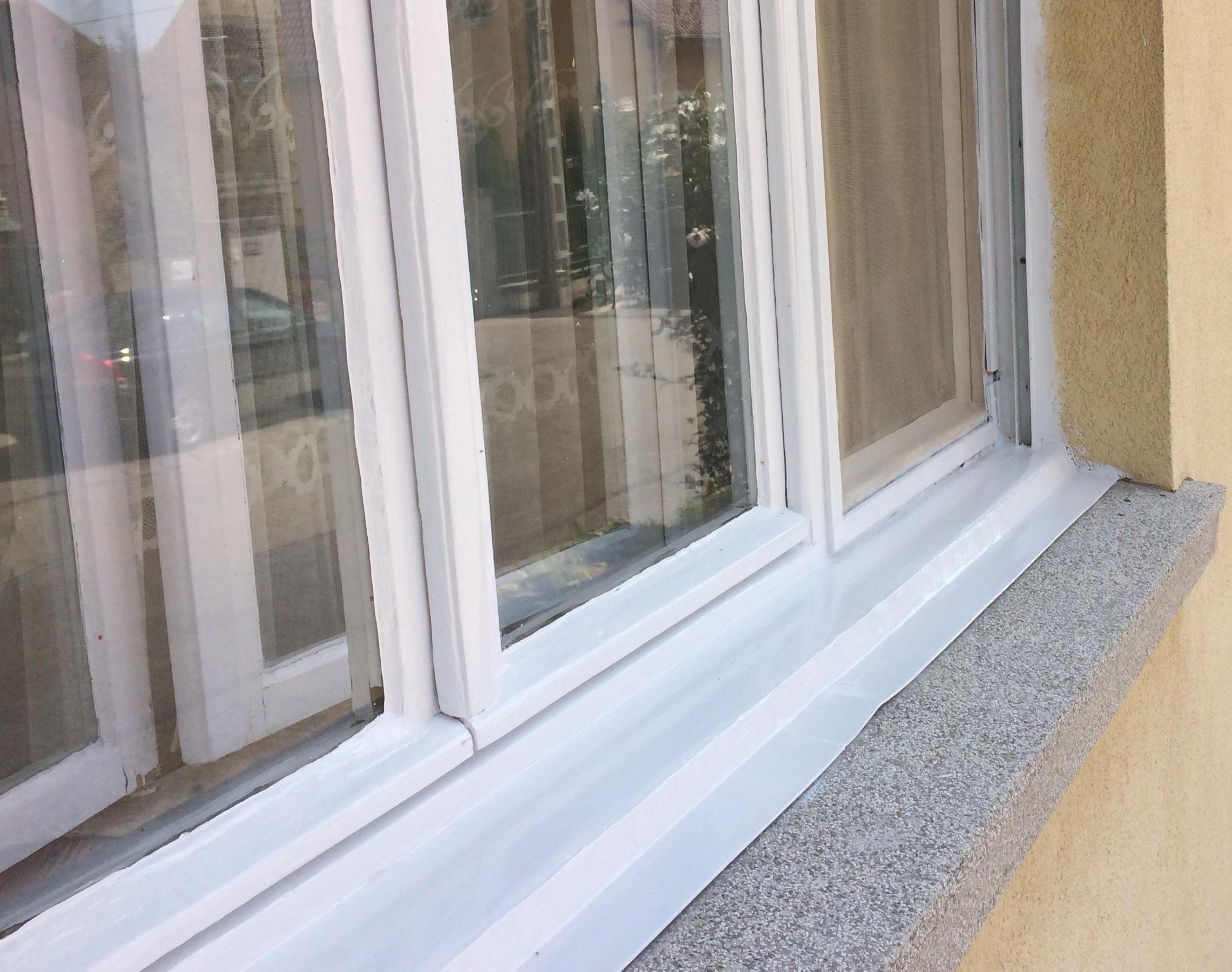 Maling av vinduet ETTER