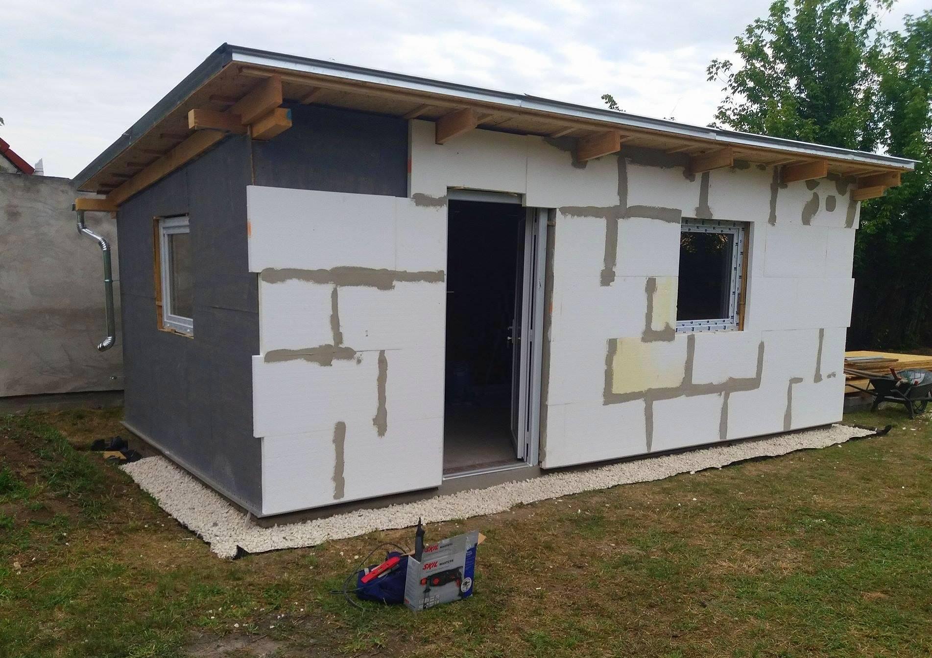 Bygge hytte 8