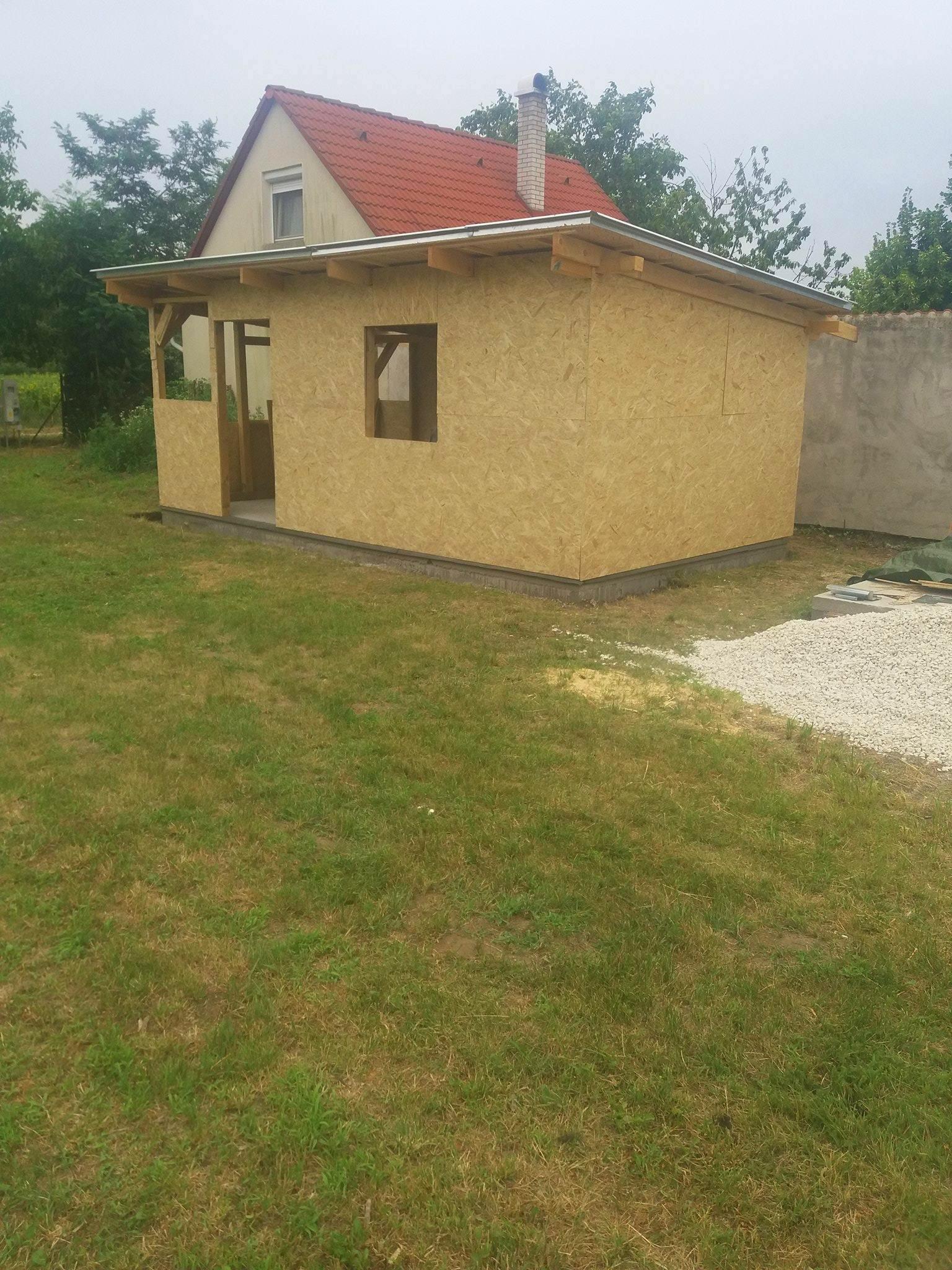 Bygge hytte 6