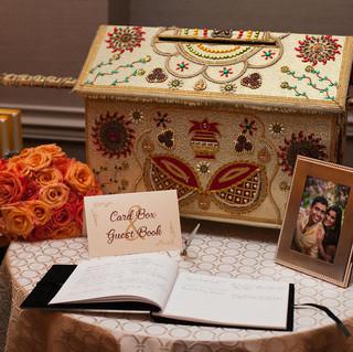 Gold-aubergine-card-box-guest-book-sign.