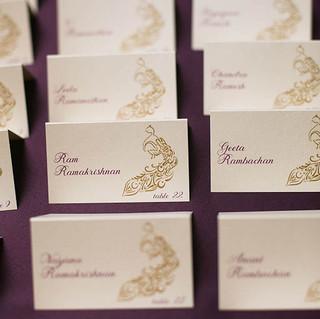 Gold-aubergine-placecard-escort-card-pea