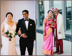 Korean Bride and Indian Groom